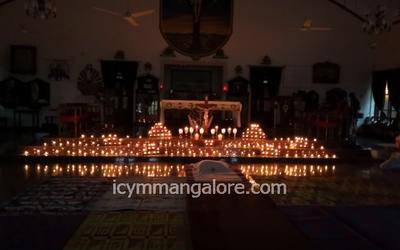 Yuva Spandan Derebail (YSD/ICYM) holds Taizé Prayer