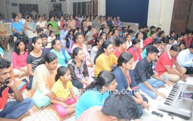 ICYM Bajjodi Unit organises Taize Prayer