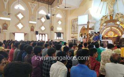ICYM and YCS of St. Paul Eastern Deanery Puttur organise Youth Retreat at the Deanery Level