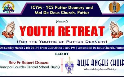 ICYM - YCS St. Paul Eastern Deanery in collaboration with ICYM - YCS Puttur units to hold Youth Retreat