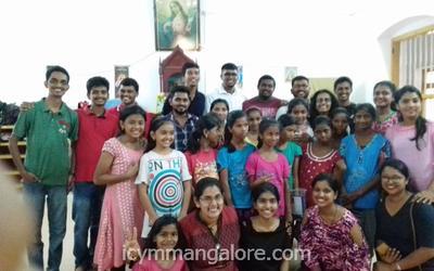 ICYM Bajjodi Unit pays a visit to St. Joseph's Prashanth Nivas