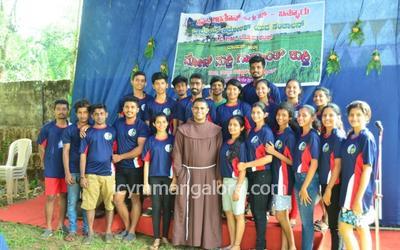 ICYM Bannur unit organizes 'Moj Masthi Gadhyanth Kusthi'