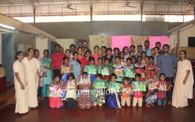 ICYM Bannur Unit pays a visit to Shanthi Nivas Ashram Vijayadka
