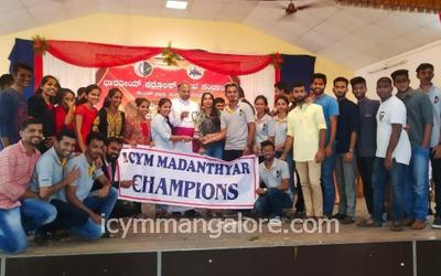 ICYM Madanthyar unit bags Annual Overall Championship