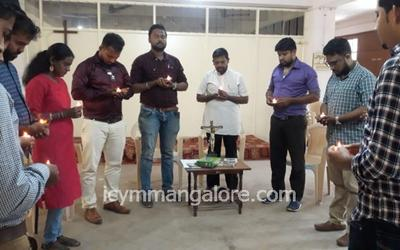 ICYM Central Council Mangalore Diocese pays tribute to martyrs of Pulwama Attack