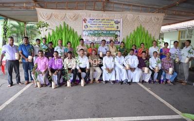 ICYM Madanthyar unit celebrates Laudato - Si Sunday