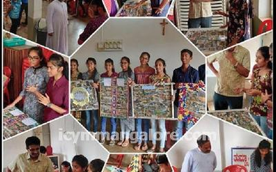 ICYM Katipalla unit organises 'Collage Making Competition'
