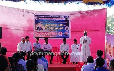 ICYM Fajir unit organizes Blood Donation, Organ Donation and Free Medical Checkup Camp