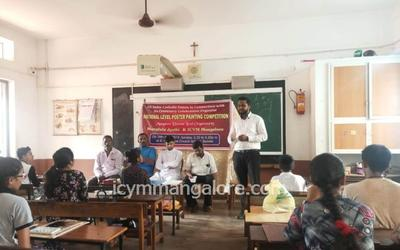 All India Catholic Union organized National Level Poster Painting Competition in collaboration with Mangala Jyothi and ICYM Mangalore Diocese