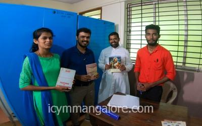 ICYM MANGALORE DIOCESE inaugurates New Library for the youth