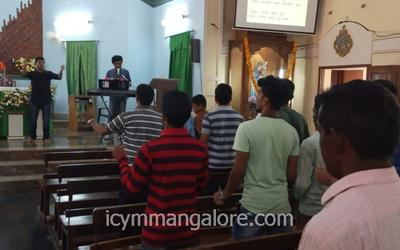 ICYM Maril unit holds Youth retreat