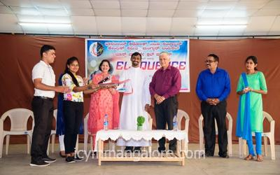 ICYM Mangalore Diocese held an immersive training session on public speaking