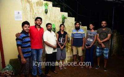 ICYM Mangalore Diocese executive members gave an initiative to bottle gardening