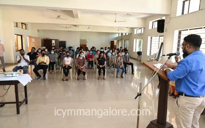 Yuva Spandan Derebail in collaboration with YCLC and YCS holds YOUTH INFOMEET