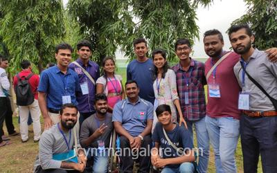 ICYM Mangalore diocese youth at the National Youth Conference - 2019