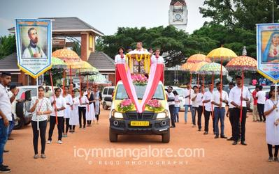 Youth Commission, Mangalore Diocese in collaboration with White Doves organised 'Youth March For Christ'