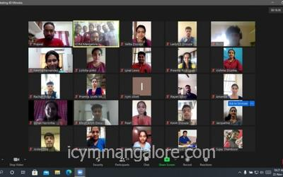 'Lead, Serve and Shine' : ICYM Mangalore Diocese hosts Virtual Leaders' Conference