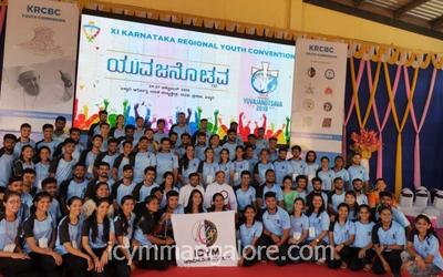 ICYM Mangalore diocese youth participate in Karnataka Regional Youth Convention