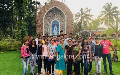 ICYM Youths of Cordel Parish on Pilgrimage to Churches in Udupi Diocese
