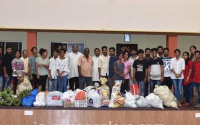 ICYM Mogarnad unit visits Ashram