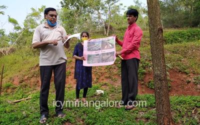 ICYM Fajir unit and CODP (R) Mangaluru jointly organize voluntary service
