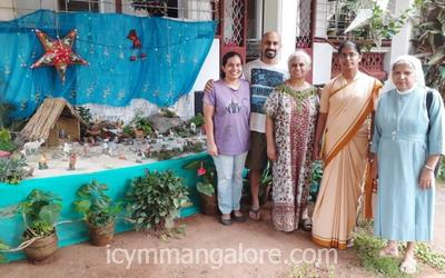CAL bendur organises Christmas Crib making competition
