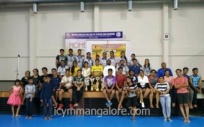 ICYM Episcopal City Deanery organized Badminton Tournament : 'ECD Cup – 2020'