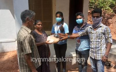 ICYM Belthangady deanery towards helping the needy