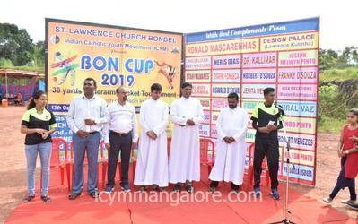 ICYM Bondel unit organises BON CUP 2019