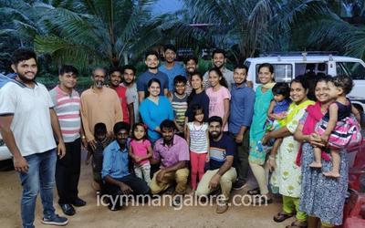 ICYM Moodbidri deanery youth visit Sion Ashram