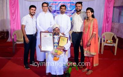 ICYM Mangalore diocese holds Farewell Program for Yuvaspoorthi Fr Ronald D'Souza