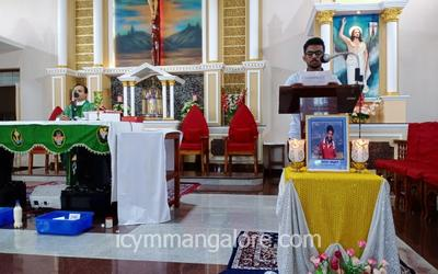 ICYM Kuppepadav unit honours the newly beatified young Blessed Carlo Acutis