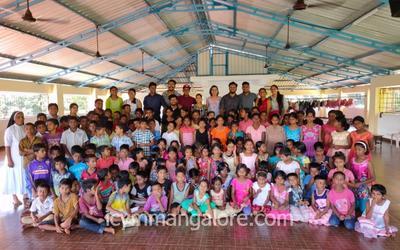 ICYM Jeppu unit paid a visit to Ashram