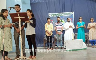 ICYM Central Council Mangalore Diocese organised Diocesan level Bible Quiz 2019