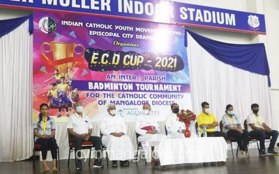 ICYM Episcopal City Deanery organized Inter-Parish Badminton Tournament ECD CUP-2021
